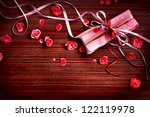 Present Gift Bow With Petal...