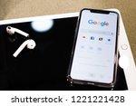 moldova  hincesti  29.10.2018.... | Shutterstock . vector #1221221428