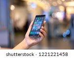 chiang mai  thailand   oct. 28... | Shutterstock . vector #1221221458