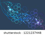 big data visualization... | Shutterstock .eps vector #1221237448