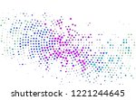 light multicolor  rainbow... | Shutterstock .eps vector #1221244645