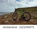 bike on the pacific ocean | Shutterstock . vector #1221256972