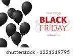 black friday. big sale special...   Shutterstock .eps vector #1221319795