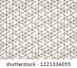 abstract geometric pattern with ... | Shutterstock .eps vector #1221336055