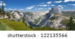 A Panorama Of Yosemite Valley...