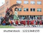 leeuwarden  the netherlands ...   Shutterstock . vector #1221368155