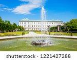 mirabell palace or schloss...   Shutterstock . vector #1221427288