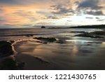dawn breaking over  north... | Shutterstock . vector #1221430765