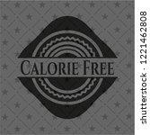 calorie free realistic black... | Shutterstock .eps vector #1221462808