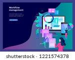 concept illustration of... | Shutterstock .eps vector #1221574378
