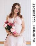 sensetive portrait of a... | Shutterstock . vector #1221606055