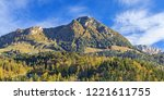 landscape with mountain jenner  ... | Shutterstock . vector #1221611755