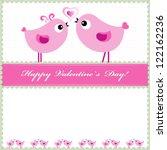 heart valentines day background ... | Shutterstock . vector #122162236