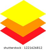 rhombus logo three colours   Shutterstock .eps vector #1221626812
