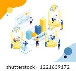vector creative business...   Shutterstock .eps vector #1221639172