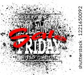 black friday sale background ... | Shutterstock .eps vector #1221650092