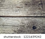 old rustic weathered wooden... | Shutterstock . vector #1221659242