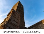 ancient roman structure called... | Shutterstock . vector #1221665242
