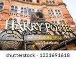 london  february  2018  palace... | Shutterstock . vector #1221691618