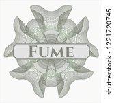 green passport style rossete...   Shutterstock .eps vector #1221720745