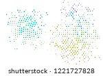 dark multicolor  rainbow vector ... | Shutterstock .eps vector #1221727828