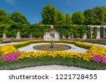 july 29  2018. beautiful... | Shutterstock . vector #1221728455