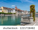 july 12  2018. view of the old... | Shutterstock . vector #1221728482