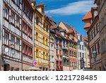 july 8  2018. the oldest street ... | Shutterstock . vector #1221728485