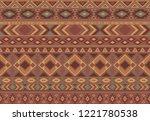 indian pattern tribal ethnic...   Shutterstock .eps vector #1221780538