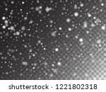 vector storm trail winter... | Shutterstock .eps vector #1221802318