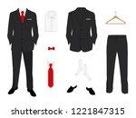 vector illustration. elegant ... | Shutterstock .eps vector #1221847315