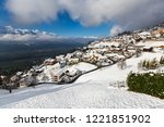 f rstentum liechtenstein view | Shutterstock . vector #1221851902