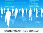 easy to edit vector... | Shutterstock .eps vector #122186062