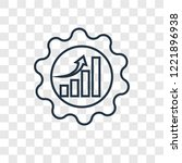 efficiency concept vector... | Shutterstock .eps vector #1221896938
