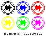 made in azerbaijan   rubber... | Shutterstock .eps vector #1221899602