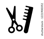 grooming icon. trendy grooming... | Shutterstock .eps vector #1221900352