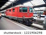 zurich switzerland   aug. 24 ... | Shutterstock . vector #1221906298