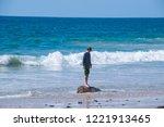 october 8  2018   newport coast ... | Shutterstock . vector #1221913465