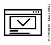 web browser vector icon