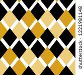 geometry rhombus vector pattern.... | Shutterstock .eps vector #1221981148