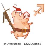 astrological sign in the ...   Shutterstock .eps vector #1222008568
