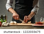 the concept of nutrition. the... | Shutterstock . vector #1222033675