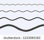 rope vector illustration | Shutterstock .eps vector #1222085182