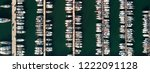 drone panoramic birds eye view... | Shutterstock . vector #1222091128