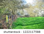 scenic view of a tree line lush ... | Shutterstock . vector #1222117588