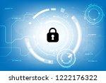 vector security lock...   Shutterstock .eps vector #1222176322