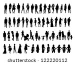 people | Shutterstock .eps vector #122220112