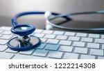 medical science technology... | Shutterstock . vector #1222214308