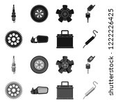vector design of auto and part...   Shutterstock .eps vector #1222226425