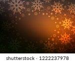 dark orange vector template... | Shutterstock .eps vector #1222237978